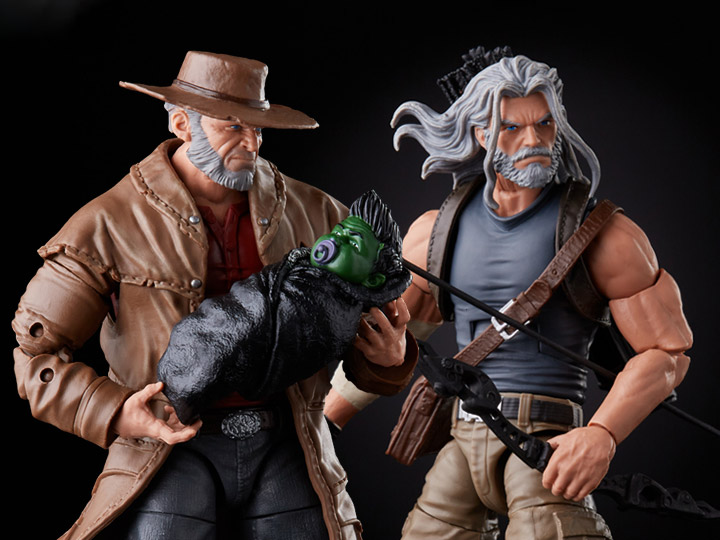 X-men Marvel Legends 20th Anniversary Old Man Logan and Hawkeye by Hasbro