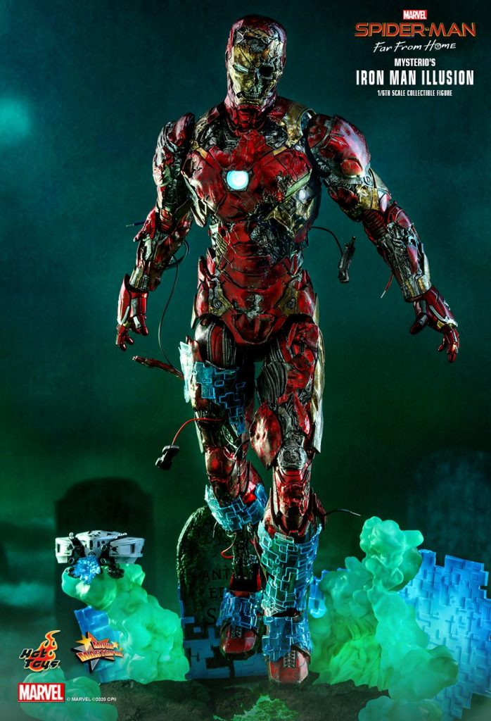 Spider-Man: Far From Home - Iron Man Illusion Collectible Action Figure