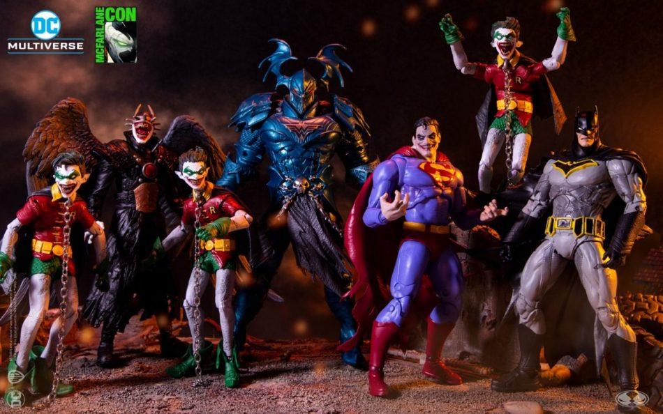 DC Multiverse Batman Merciless Wave McFarane Con