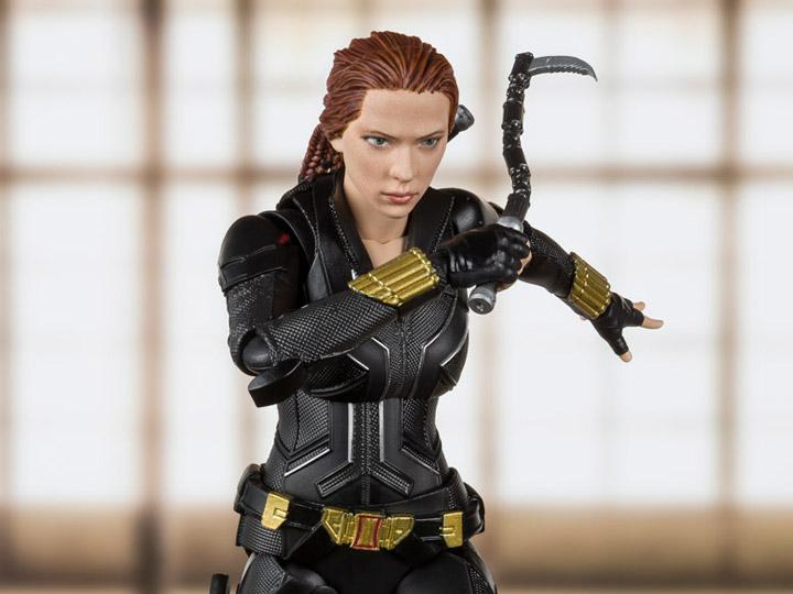 Black Widow S.H.Figuarts Taskmaster action figure