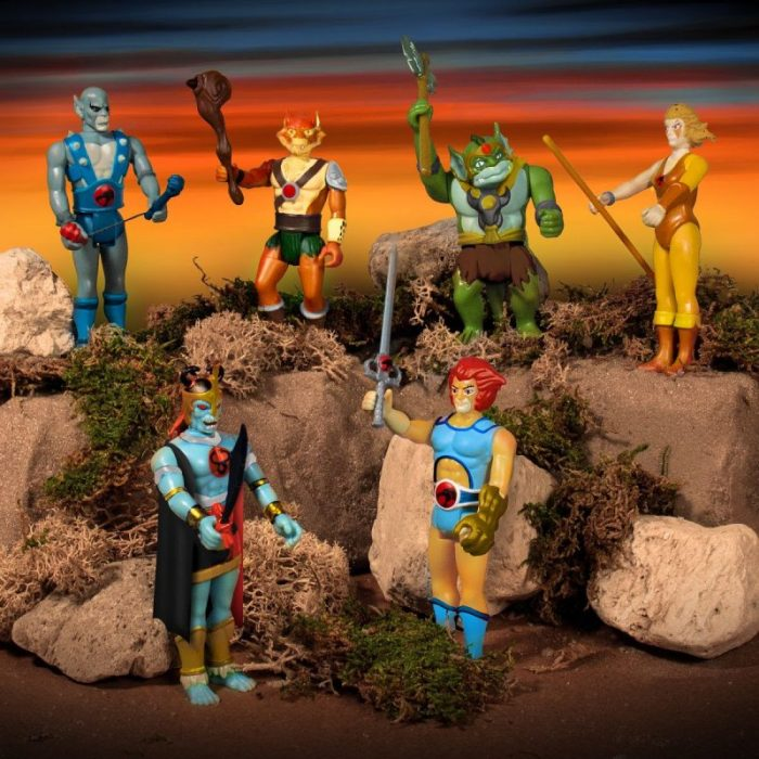 Super7 Thundercats ReAction Figures Wave 1 Pre-order