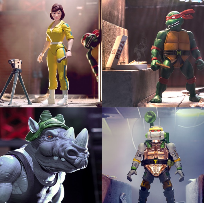 Super7 TMNT wave 3 ultimates