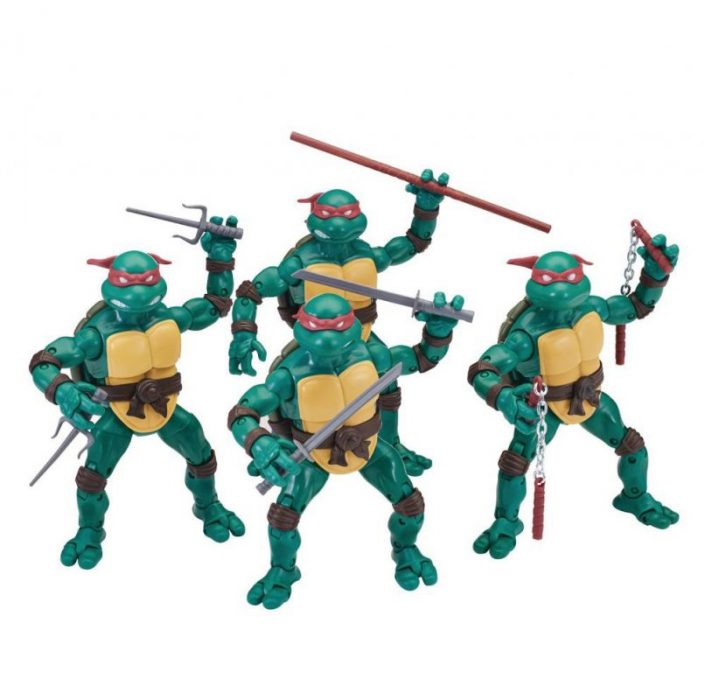 Teenage Mutant Ninja Turtles Elite Series action figures from Playmates!
