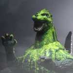 "1989 ""Biollante Bile"" Godzilla toy by NECA"