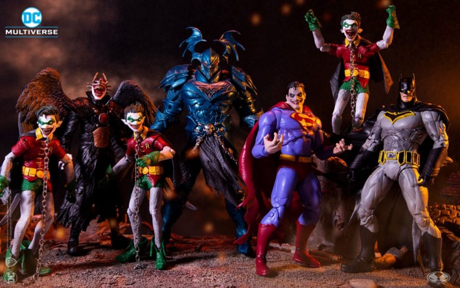 DC Multiverse Dark Nights: Metal Figures by McFarlane Toys Pre-Order