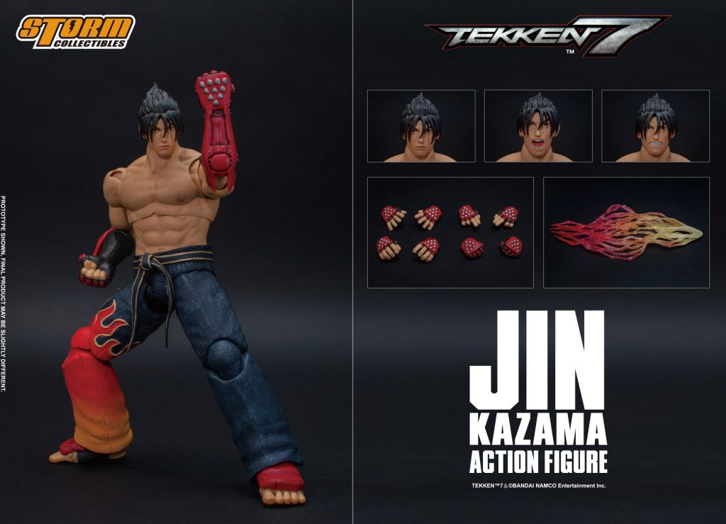 JIN KAZAMA - TEKKEN 7 ACTION FIGURE