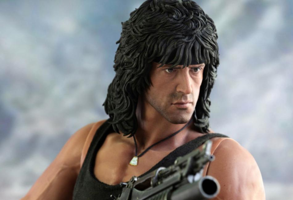 Rambo III Action Figure by Threezero