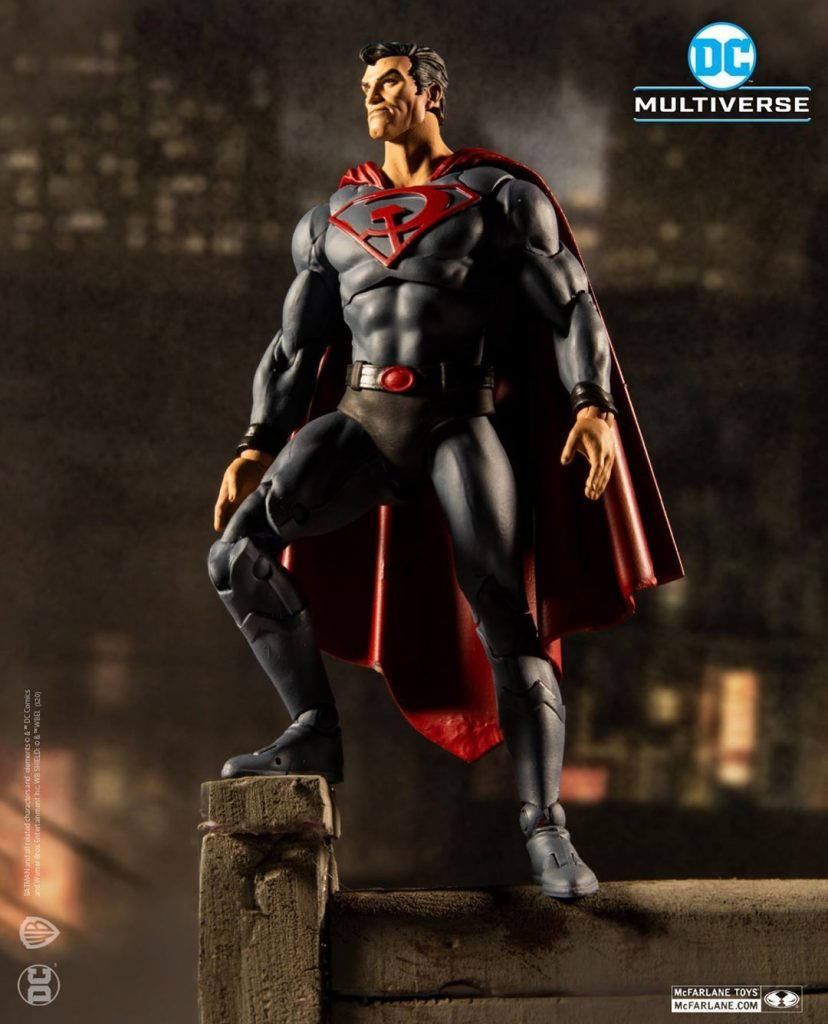 McFarlane Toys DC Multiverse Red Sun