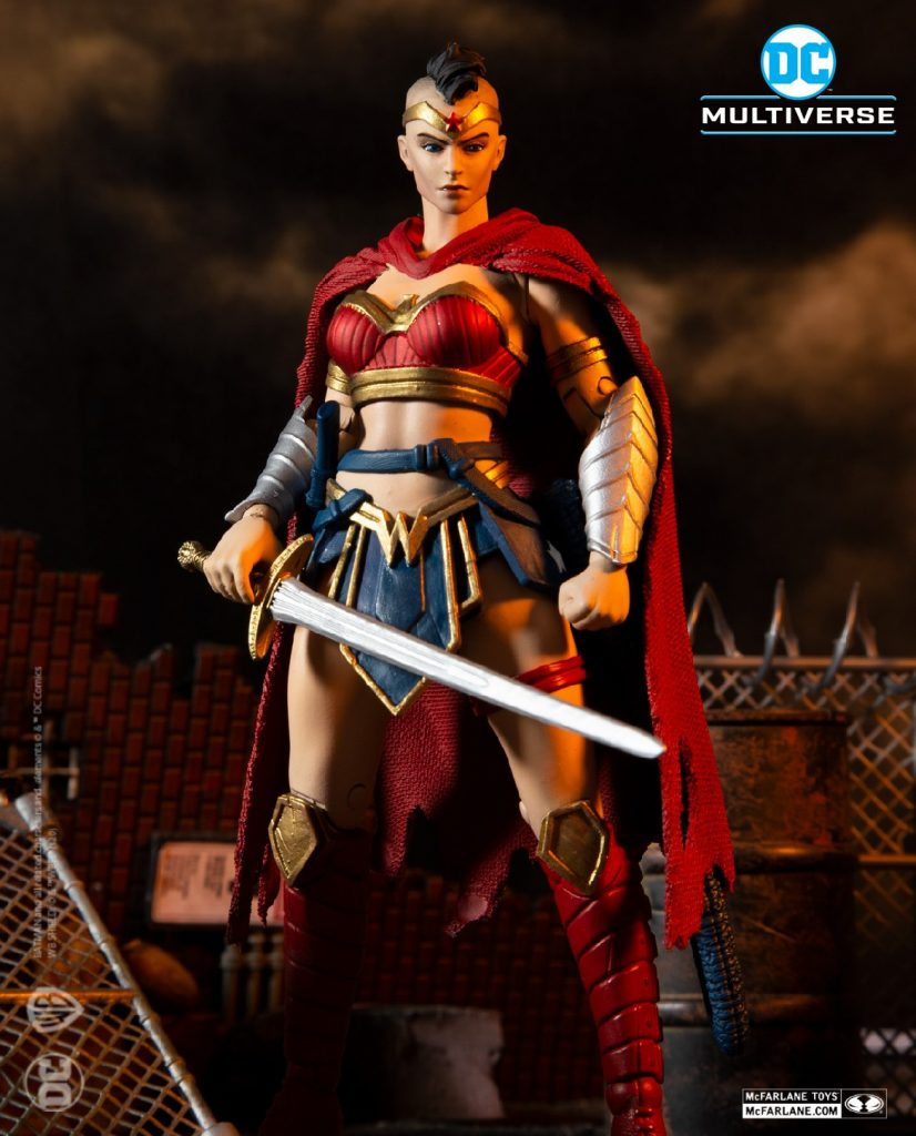 McFarlane Toys Batman Last Knight on Earth Wonder Woman Figure