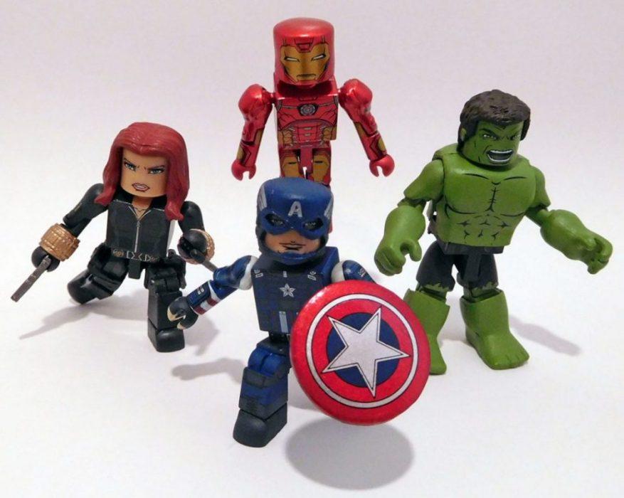 Diamond Select Avengers Minimates Gamerverse