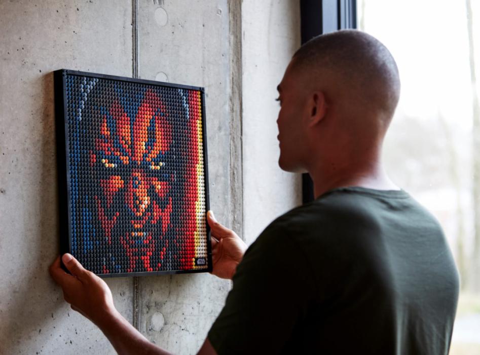 LEGO Art Star wars portraitNow Available