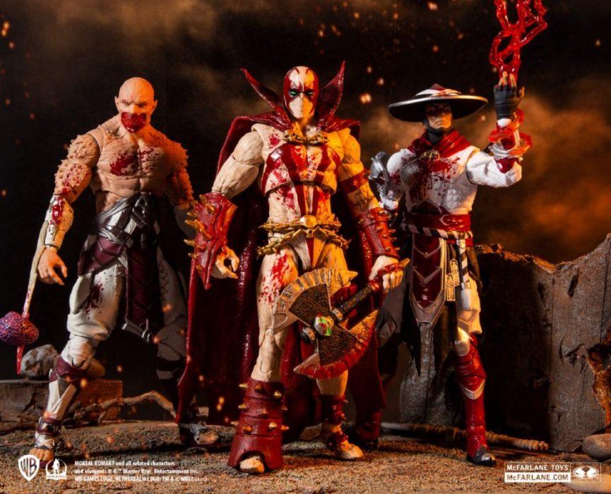 McFarlane Toys Bloody Baraka, Spawn, Raiden