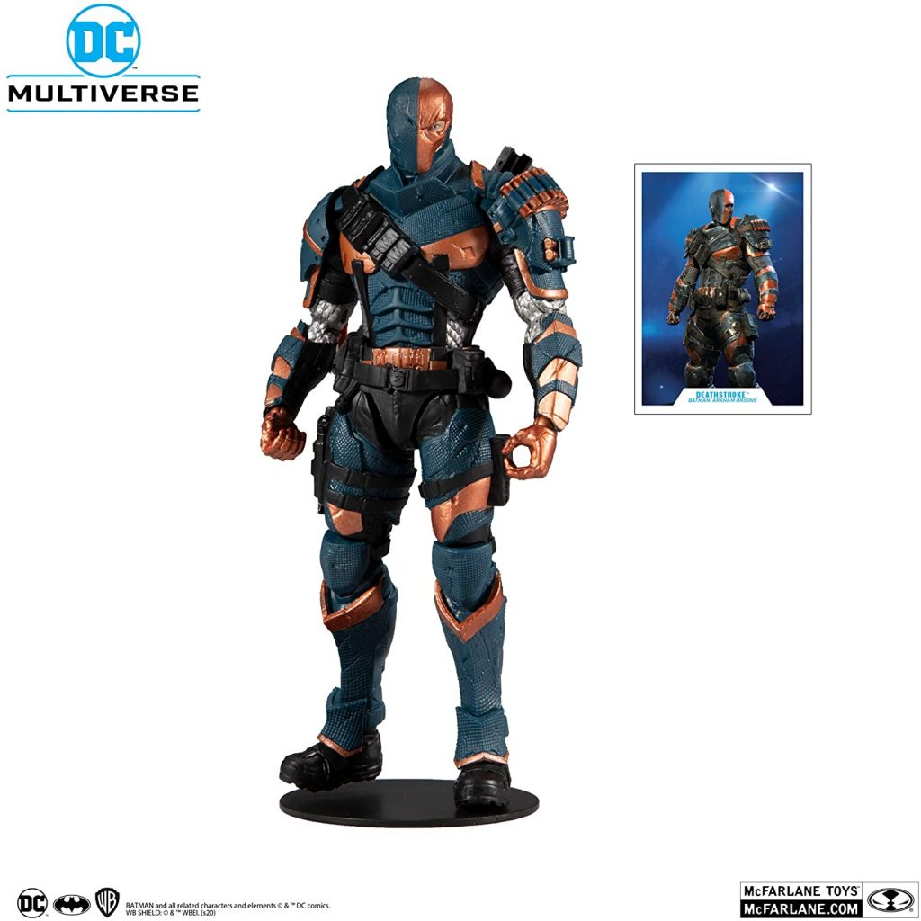 McFarlane Toys DC Multiverse Deathstroke Figure (Arkham Origins) Pre-Order