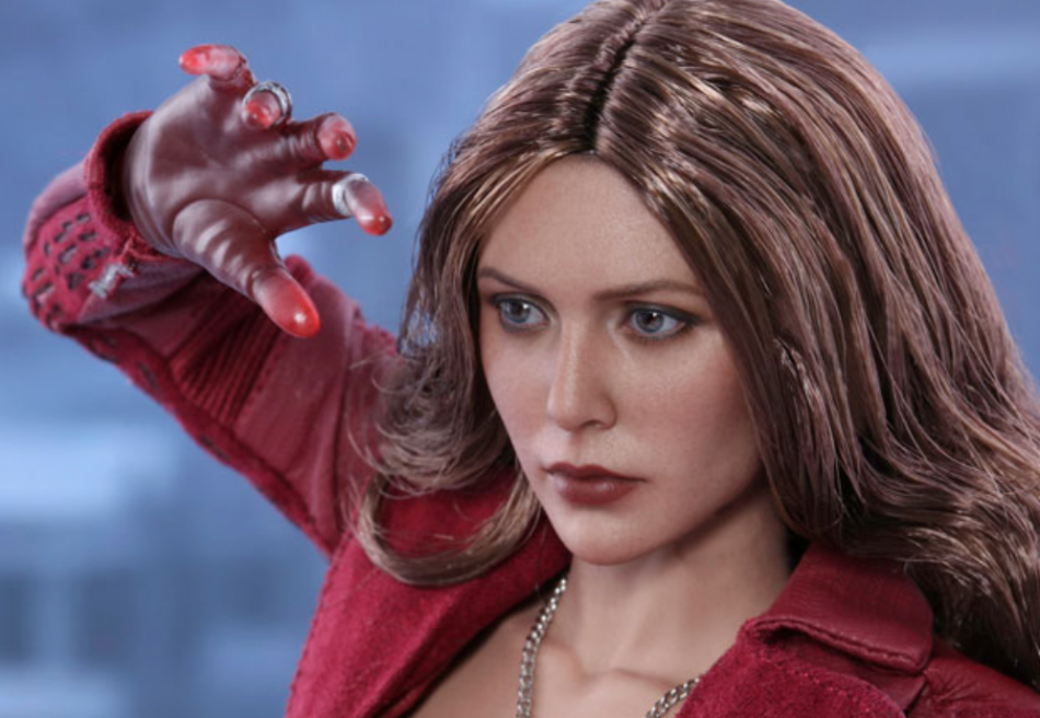 scarlet witch hot toys action figure