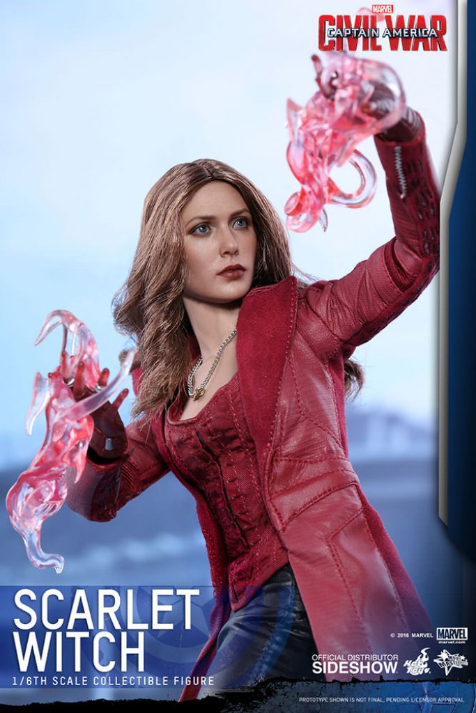 Scarlet Witch Hot Toys figure