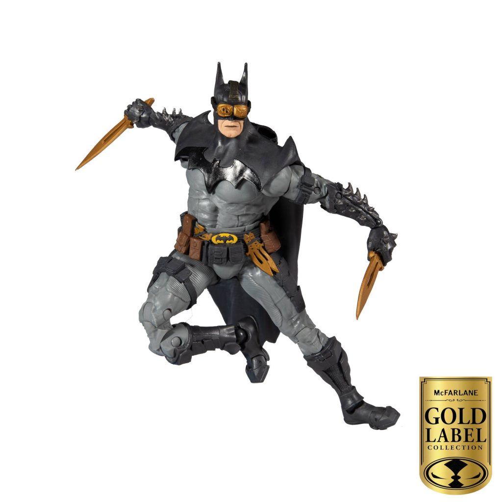 Batman Action Figure designed by Todd McFarlane