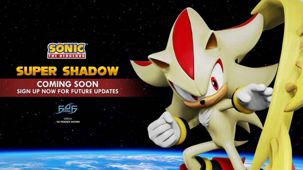 Sonic the Hedgehog Super Shadow Statue by First 4 Figures