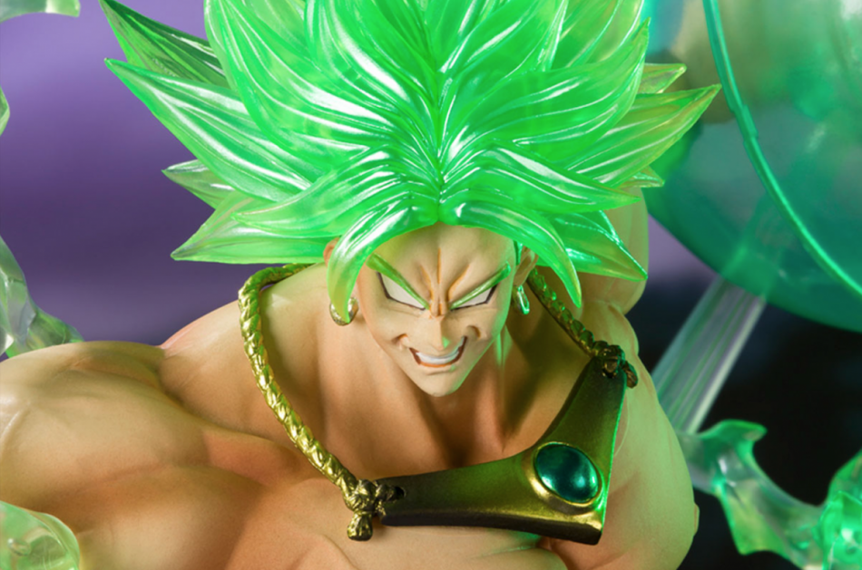 Dragon Ball Z Super Saiyan Broly The Burning Battles Event Exclusive Color