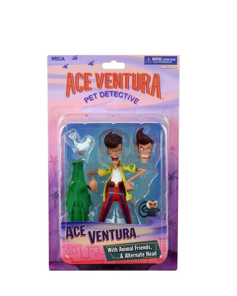 Ace Ventura Action Figure Packaging Reveal by NECA Toys.