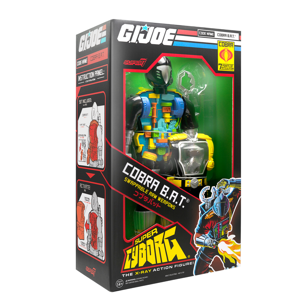 G.I. Joe Cobra Battle Android Trooper (B.A.T.) By Super7