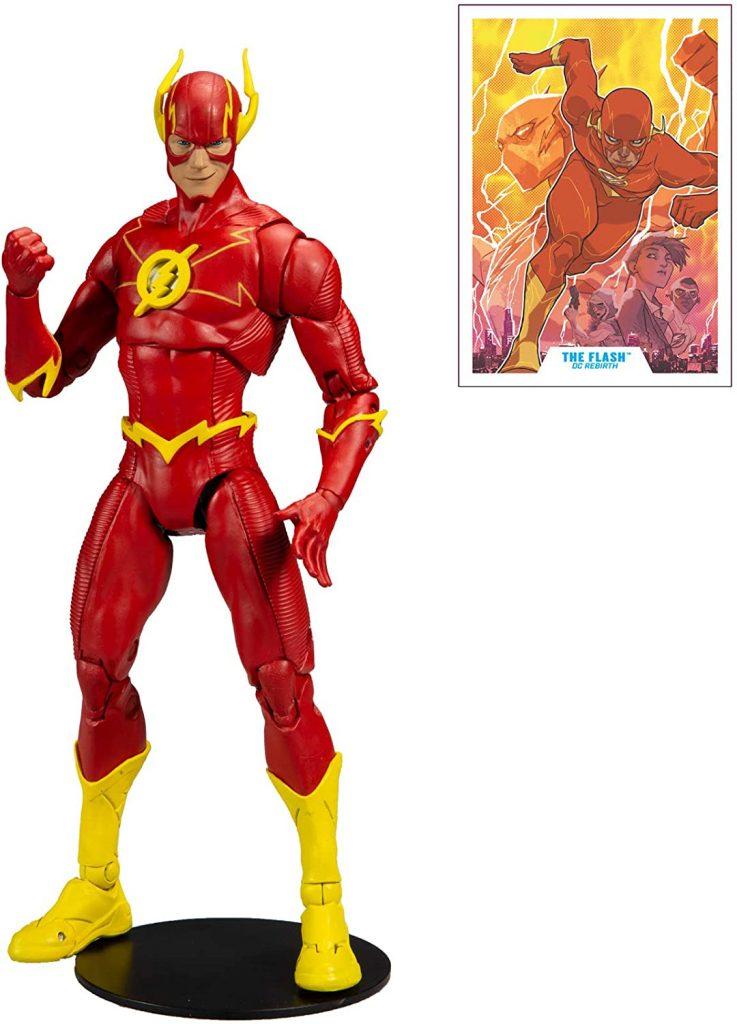 The Flash Action Figure by Mcfarlane Toys