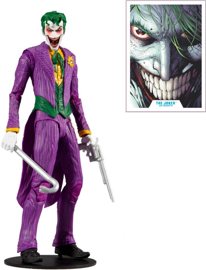 The Joker Action Figure by MCFarlane Toys