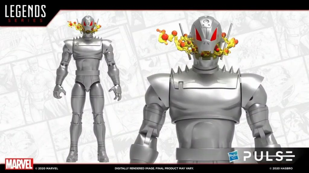 Marvel Legends Classic Comic Ultron Figure - Fan First Friday 2021 Reveal