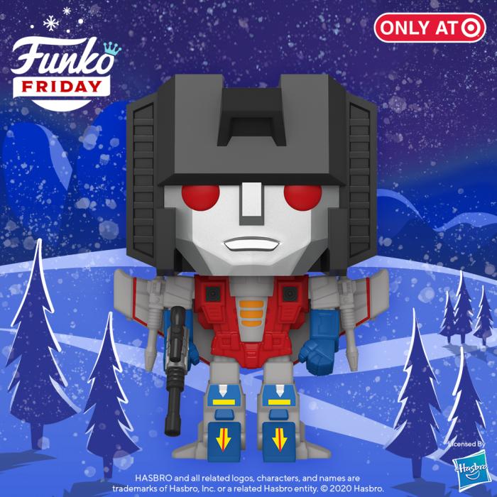 Funko POP! Transformers Starscream a Target Exclusive