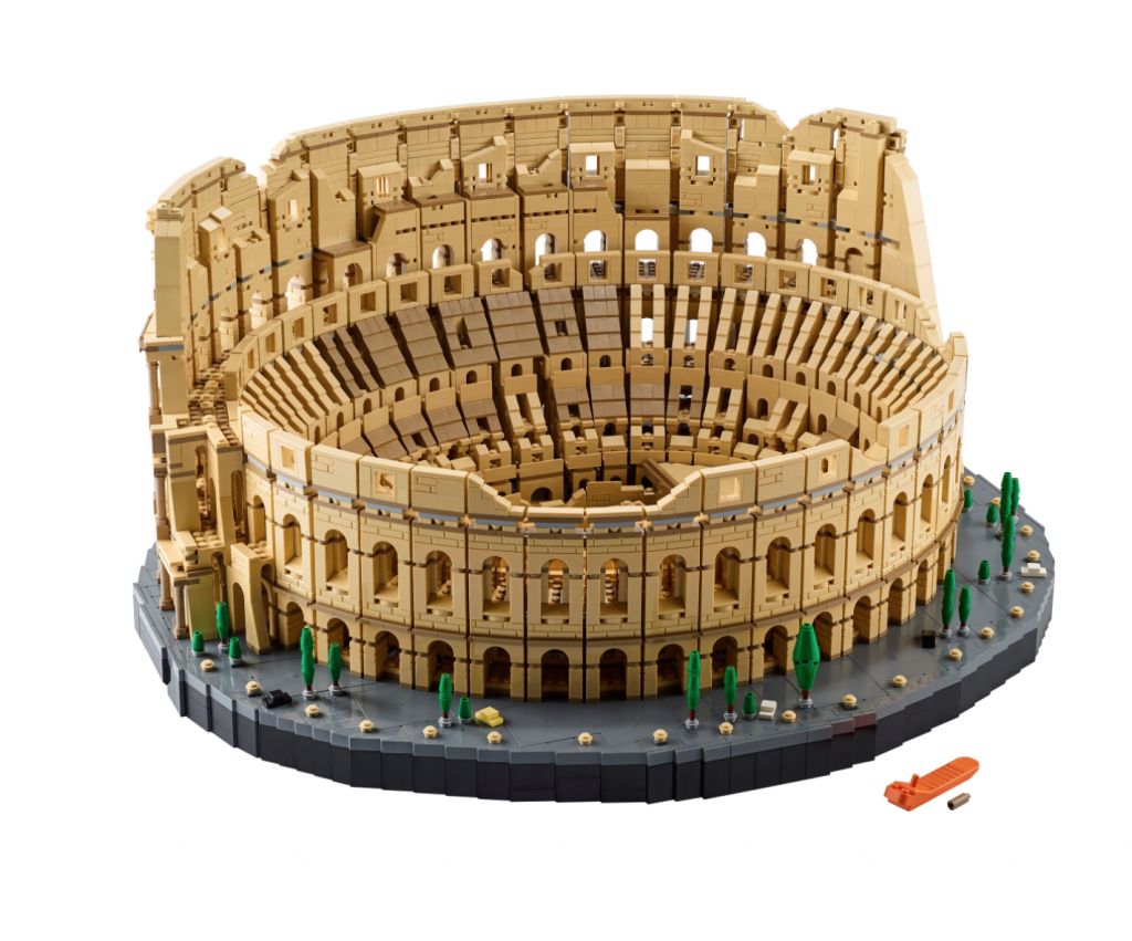 The Lego Colosseum Set the Largest EVER