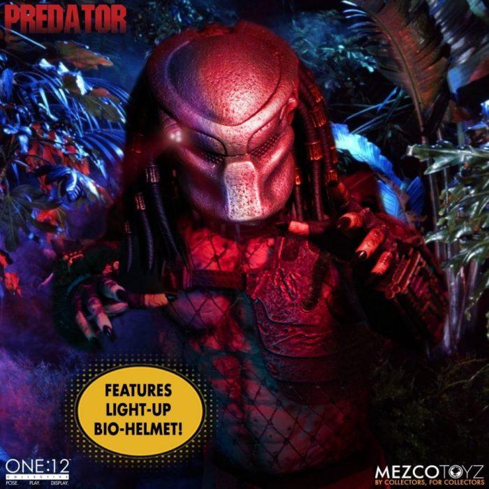 Mezco One:12 collective predator deluxe edition figure