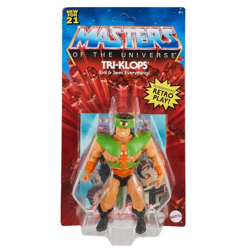 mattel masters of the universe origins tri-klops