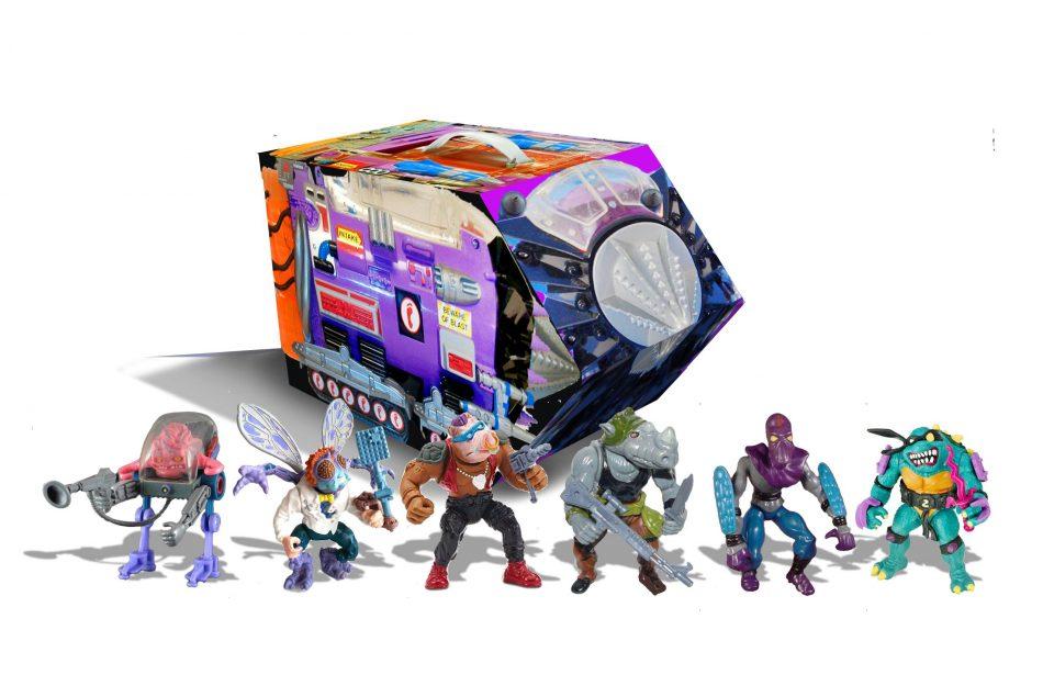 Playmates Classic TMNT Action Figures
