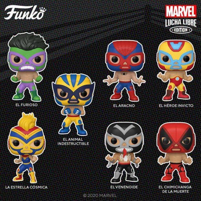 Funko POP! Marvel Luchadores