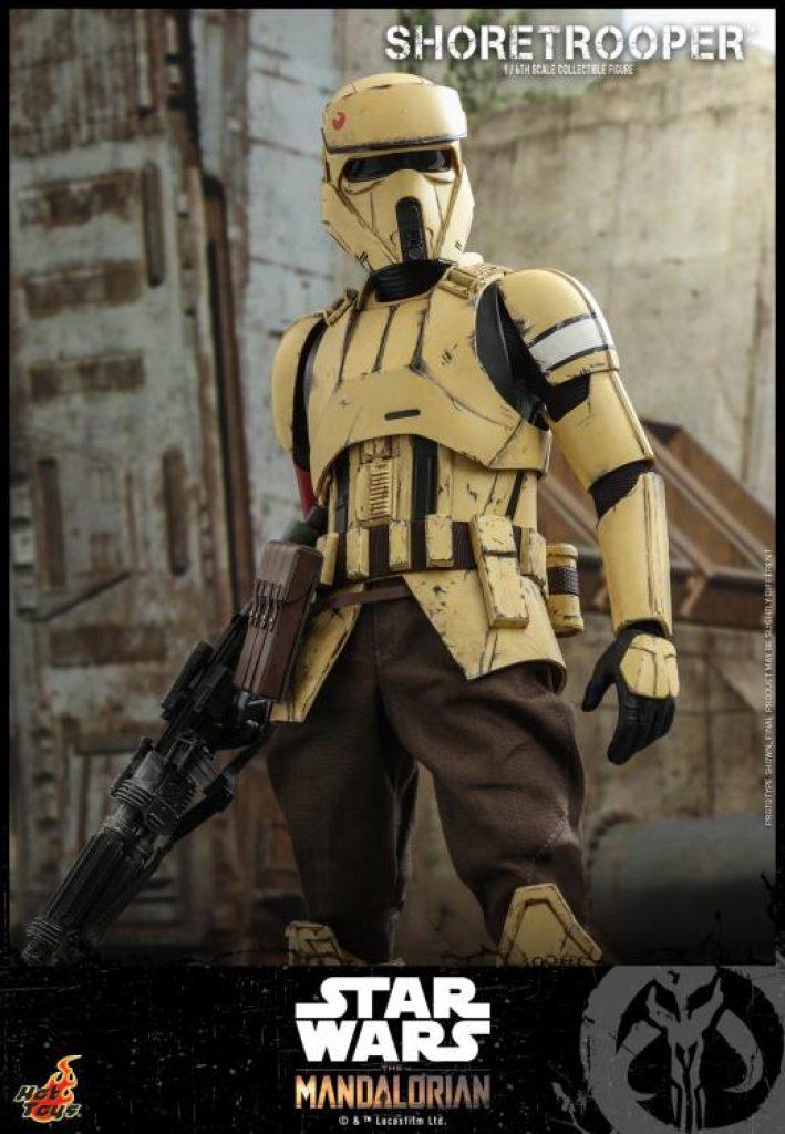 hot toys shoretrooper action figure star wars