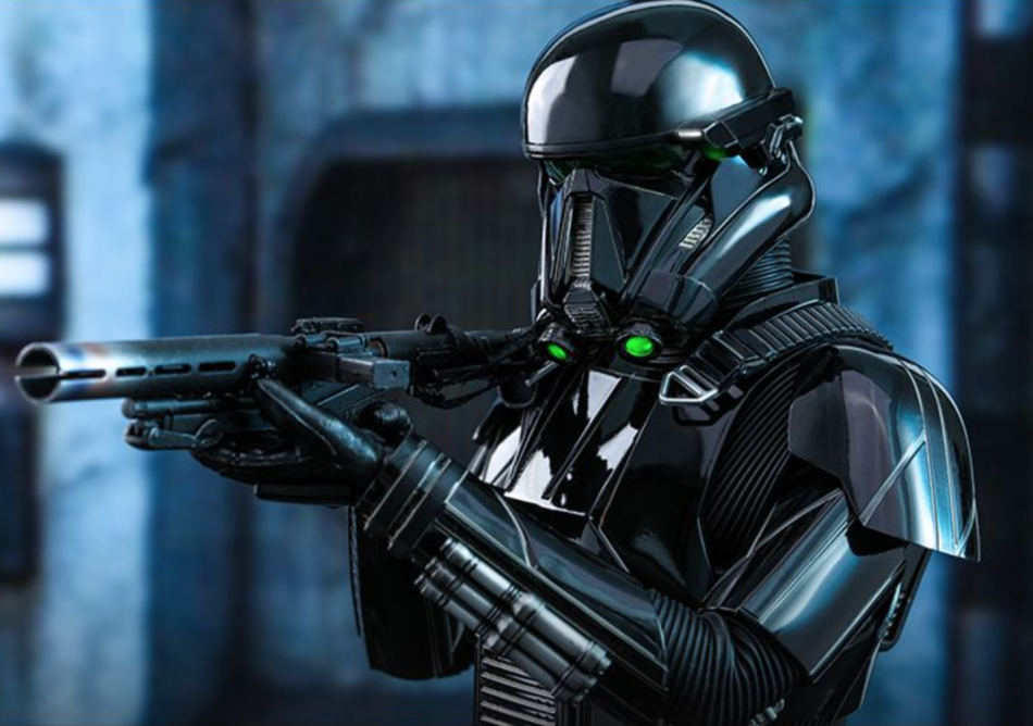 Death Trooper Figure by Hot Toys