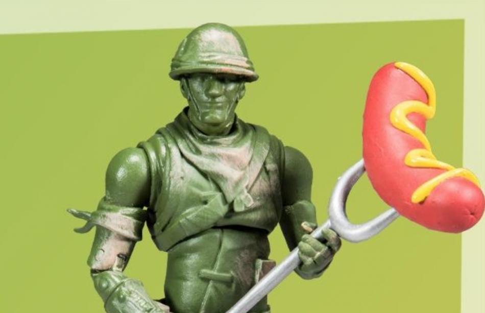 McFarlane Toys Fortnite Plastic Patroller Action Figure