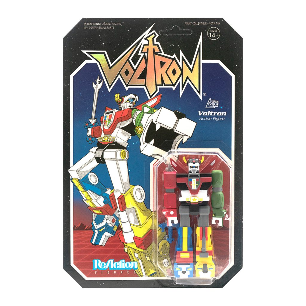 Voltron ReAction Figure by Super7