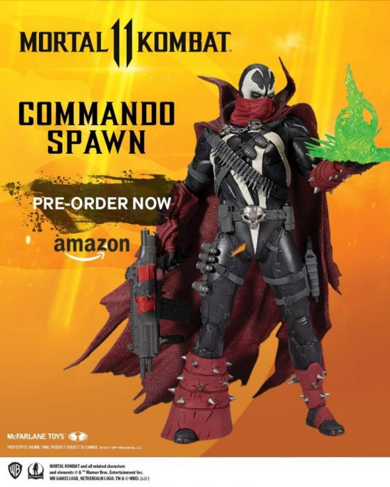Mortal Kombat Commando Spawn (Dark Ages Skin) by McFarlane Toys