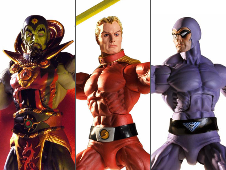 Defenders of the Earth action figures