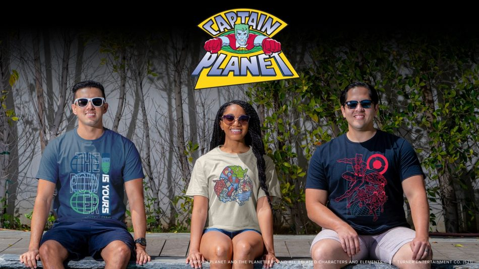 The Captain Planet Capsule Collection by Lootcrate