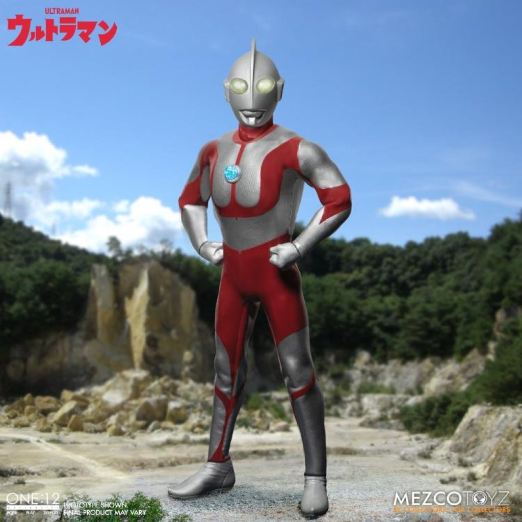 The Mezco Ultraman Action Figure Joins the One:12 Collective