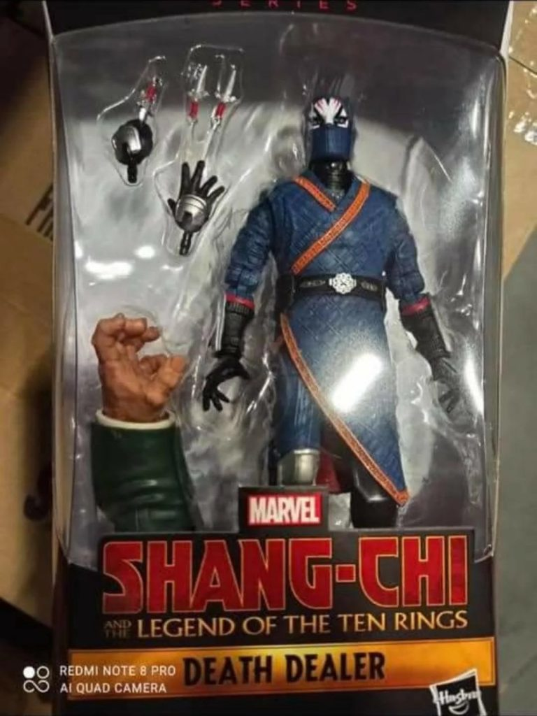 Shang Chi Ten Rings Marvel Legends Figure Movie Toy