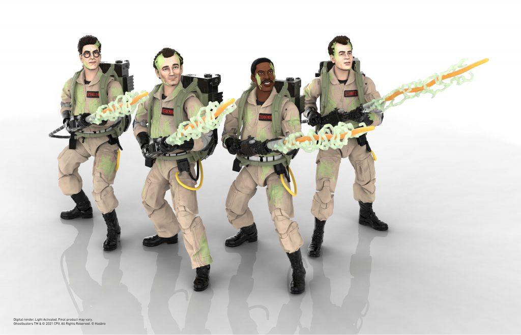 hasbro ghostbusters plasma series action figures