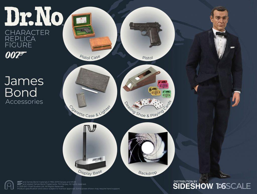 James Bond Sideshow Figures