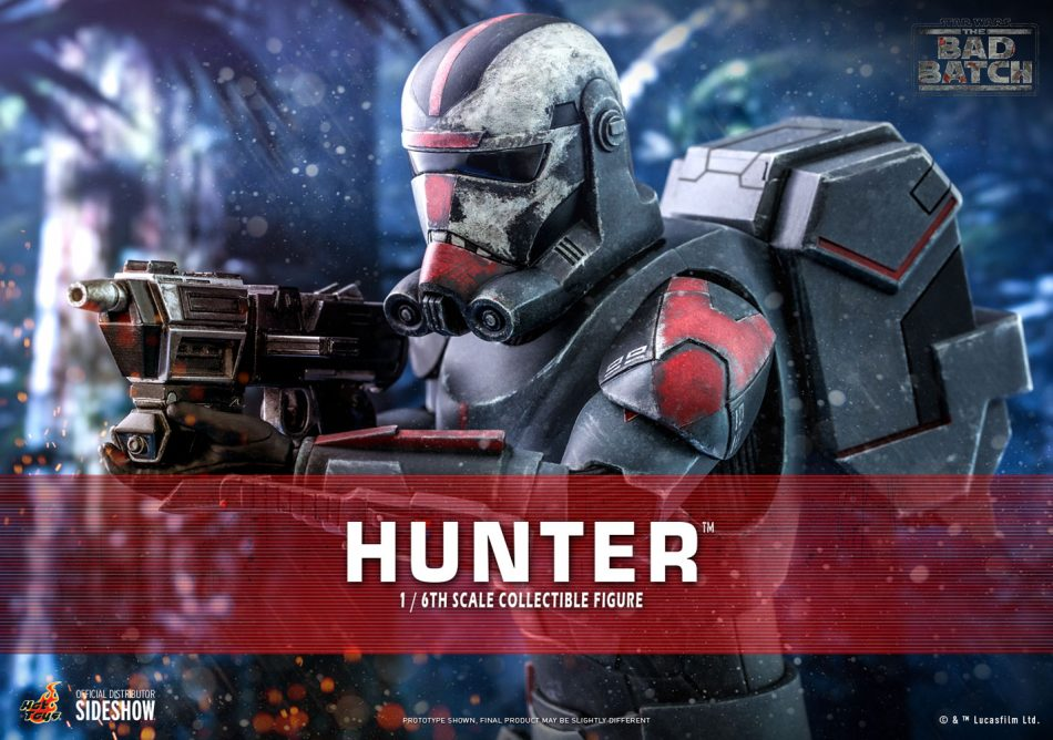 hot toys hunter action figure 1/6 scale