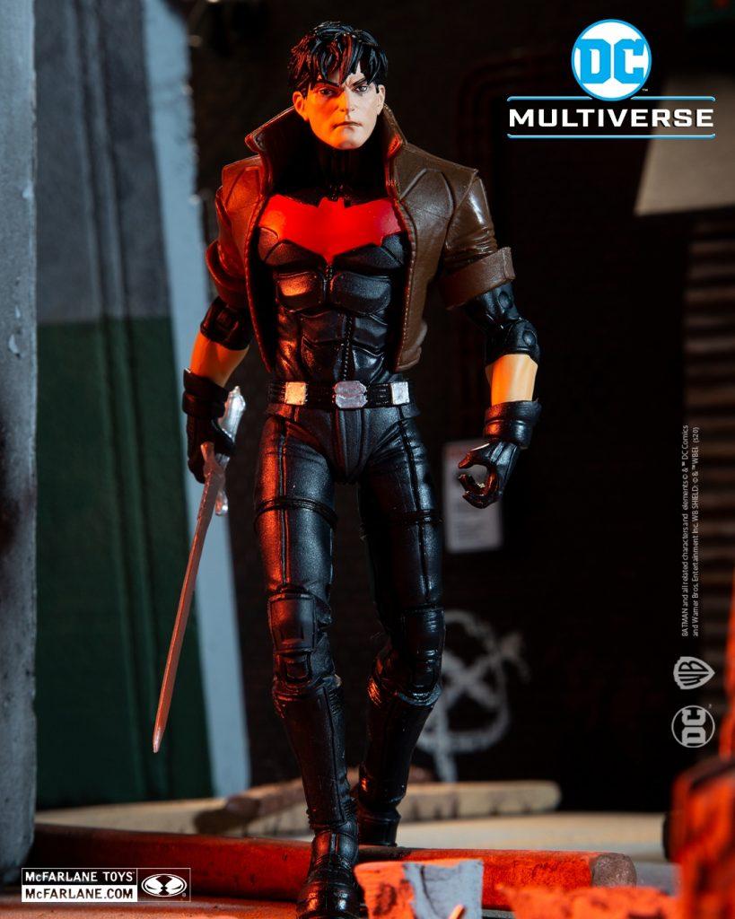 McFarlane Toys Red Hood Unmasked Action Figure