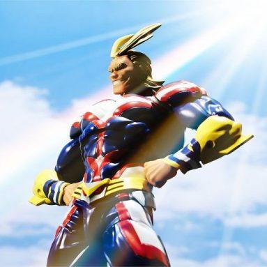 My Hero Academia 'Amazing Yamaguchi' Revoltech All Might Action Figure by Kaiyodo
