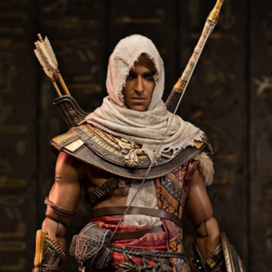 Assassin's Creed Origins: Bayek Action Figure Photo Reveal by Dam Toys