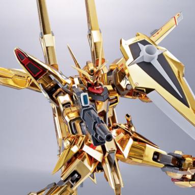 Gundam Metal Robot Spirits Akatsuki Gundam (Shiranui Unit) Action Figure by Bandai Spirits Hits Stores