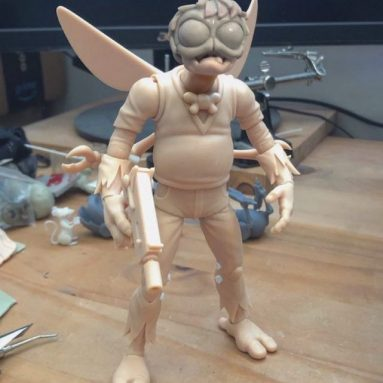 NECA Shows Off New Baxter Action Figure Prototype
